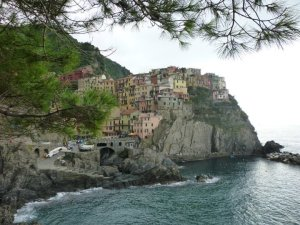 Cinque Terre was a day-trip from their place