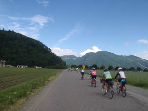 A club cycle ride usually has 10 to 20 participants