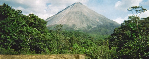 We never seemed to have the camera when Arenal was blowing its top