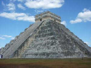 En route to Cobá, the better known Chichén Itzá