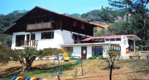 Our first discovery in CR was a local Montessori school