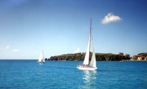 Did sailing in light airs off Sint Maarten give Paul a false sense of security about a round-the-world trip?