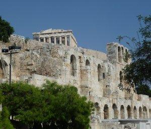 Parthenon, temple to Athena, goddess of wisdom