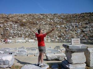 Wisdom on the island of Delos in the Greek Cyclades
