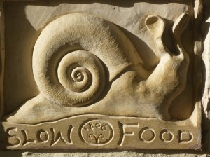 Slow travel, slow food, slow down