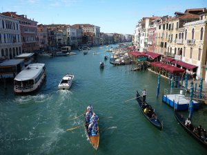 Venice is the place to be if learning Italian's on your list