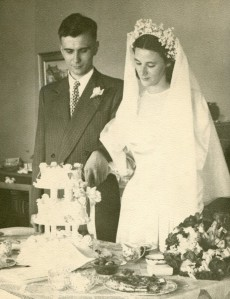 Wedding Day in 1947