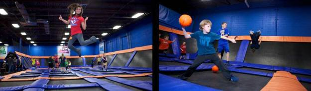 Promotional picture for Sky Zone Indoor Trampoline Park