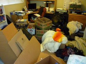 How is all that stuff going to fit into the new place?