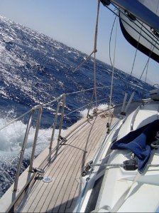 Sailing the Meltemi in the Cyclades