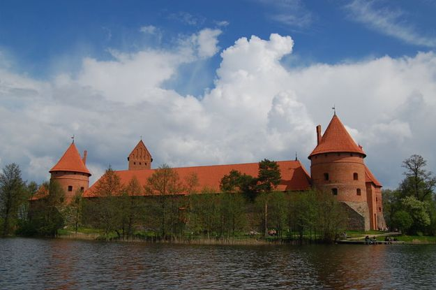 Trakai Castle in Lithuania, by Marcin Bialek