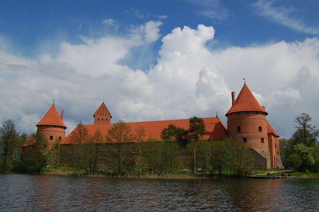 Trakai Castle in Lithuania, by Marcin Bialek