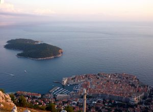 From high on Srđ, destruction rained down on Dubrovnik