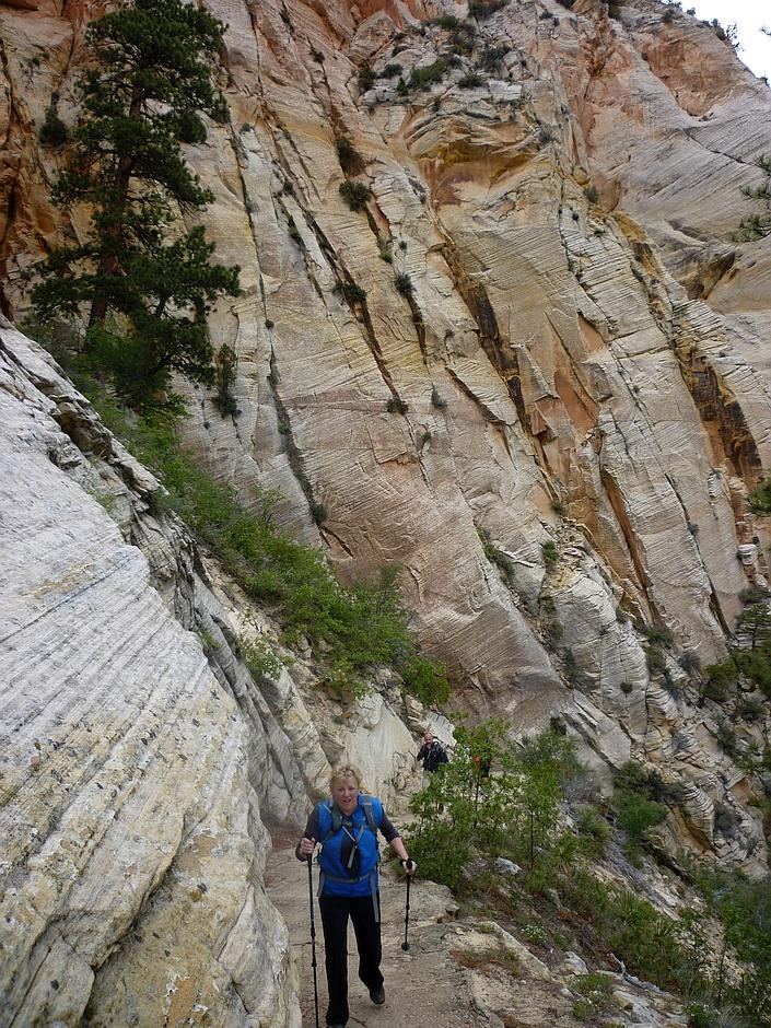 Observation Point climb