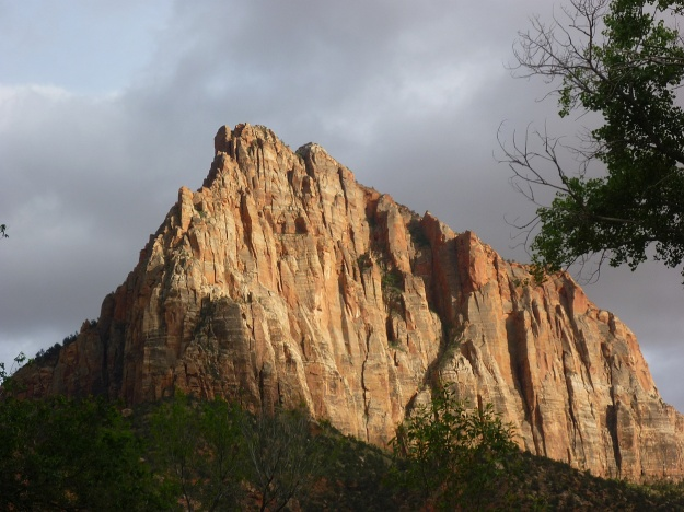 Late afternoon sun in Zion