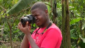 A Sawa Youth Reporter.