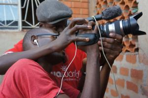 Training a Sava Youth Reporter
